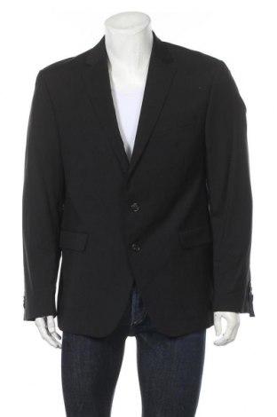 Мъжко сако Christian Berg, Размер XL, Цвят Черен, Вълна, Цена 31,97лв.