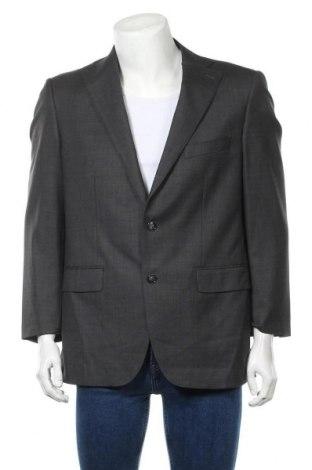 Ανδρικό σακάκι Paul Rosen, Μέγεθος L, Χρώμα Γκρί, Μαλλί, Τιμή 13,20€
