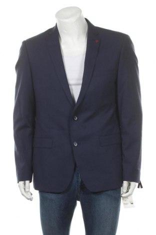 Ανδρικό σακάκι Roy Robson, Μέγεθος XL, Χρώμα Μπλέ, 54% πολυεστέρας, 44% μαλλί, 2% ελαστάνη, Τιμή 15,29€