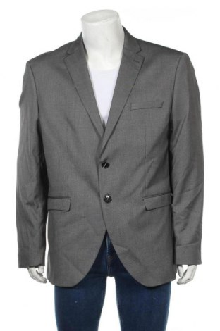 Pánské sako  Selected Homme, Velikost XL, Barva Šedá, 48% polyester, 49% viskóza, 3% elastan, Cena  587,00Kč