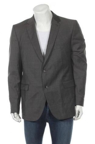 Мъжко сако Strellson, Размер L, Цвят Сив, 80% вълна, 10% полиестер, 10% полиамид, Цена 24,10лв.