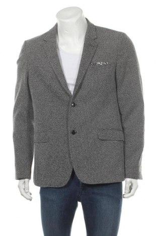 Ανδρικό σακάκι Zara Man, Μέγεθος XL, Χρώμα Γκρί, 75% πολυεστέρας, 25% βαμβάκι, Τιμή 13,16€