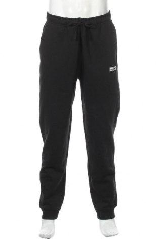 Мъжко спортно долнище Bruno Banani, Размер L, Цвят Черен, 60% памук, 40% полиестер, Цена 41,40лв.