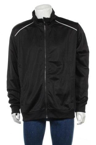 Мъжко спортно горнище H.i.s, Размер XL, Цвят Черен, Полиестер, Цена 41,30лв.