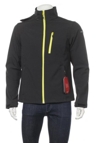 Ανδρικό αθλητικό μπουφάν Icepeak, Μέγεθος M, Χρώμα Μαύρο, 94% πολυεστέρας, 6% ελαστάνη, Τιμή 46,01€