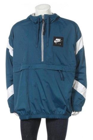 Ανδρικό αθλητικό μπουφάν Nike, Μέγεθος XL, Χρώμα Μπλέ, Πολυεστέρας, Τιμή 69,75€