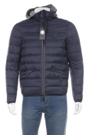 Pánská bunda  Armani Exchange, Velikost S, Barva Modrá, Polyamide, peří, Cena  2227,00Kč