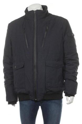 Мъжко яке Christian Berg, Размер 3XL, Цвят Син, 83% полиестер, 17% памук, Цена 99,00лв.