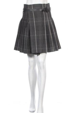 Fustă Christian Dior, Mărime S, Culoare Gri, Lână, Preț 1.177,63 Lei