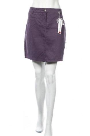 Пола Zabaione, Размер L, Цвят Лилав, 98% памук, 2% еластан, Цена 40,50лв.