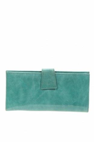 Портмоне, Цвят Зелен, Естествена кожа, Цена 36,91лв.