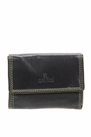 Портмоне Cellini Collection, Цвят Черен, Естествена кожа, Цена 22,05лв.