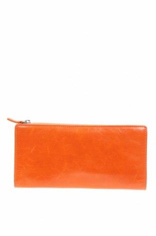 Портмоне Status Anxiety, Цвят Оранжев, Естествена кожа, Цена 31,92лв.