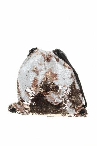 Раница, Цвят Черен, Еко кожа, текстил, Цена 22,68лв.