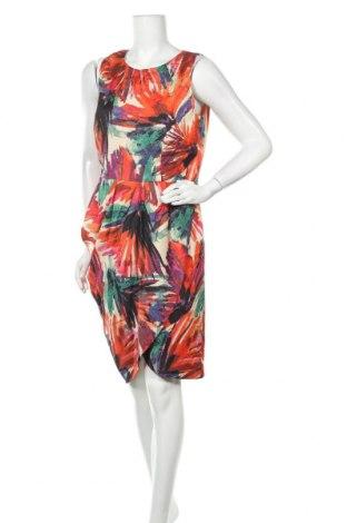 Рокля Ann Taylor, Размер XL, Цвят Многоцветен, 66% вискоза, 16% полиестер, 16% памук, 2% еластан, Цена 36,23лв.