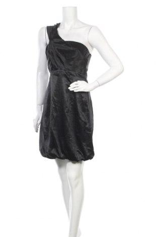 Рокля Armani Exchange, Размер S, Цвят Черен, Коприна, Цена 69,00лв.