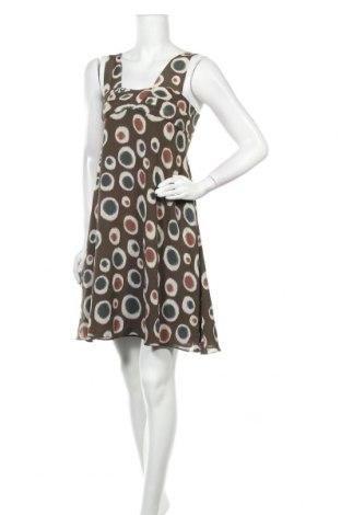 Рокля Cacharel, Размер S, Цвят Многоцветен, 100% коприна, Цена 121,50лв.