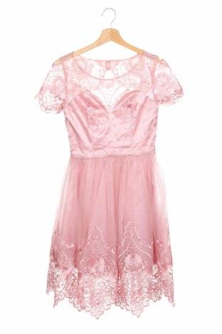 Рокля Chi Chi, Размер XS, Цвят Розов, Полиамид, Цена 73,67лв.