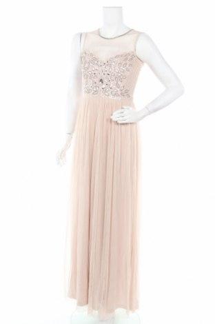 Φόρεμα Lace & Beads, Μέγεθος S, Χρώμα  Μπέζ, Πολυεστέρας, Τιμή 45,93€