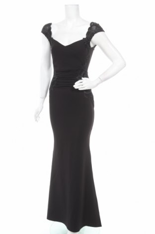 Рокля Lipsy London, Размер S, Цвят Черен, 95% полиестер, 5% еластан, Цена 96,85лв.