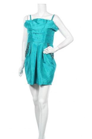 Рокля Lipsy London, Размер L, Цвят Зелен, 50% полиестер, 50% полиамид, Цена 32,92лв.