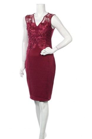 Рокля Lipsy London, Размер M, Цвят Червен, 95% полиестер, 5% еластан, Цена 81,75лв.