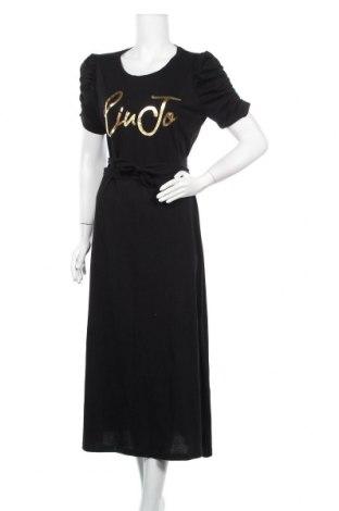 Φόρεμα Liu Jo, Μέγεθος S, Χρώμα Μαύρο, Βαμβάκι, Τιμή 84,67€