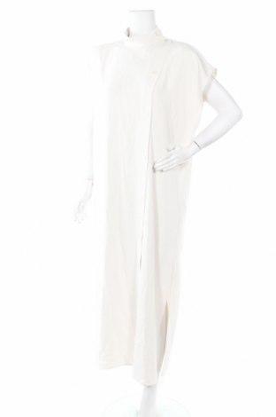 Φόρεμα Massimo Dutti, Μέγεθος M, Χρώμα  Μπέζ, Ασετάτ, Τιμή 17,44€