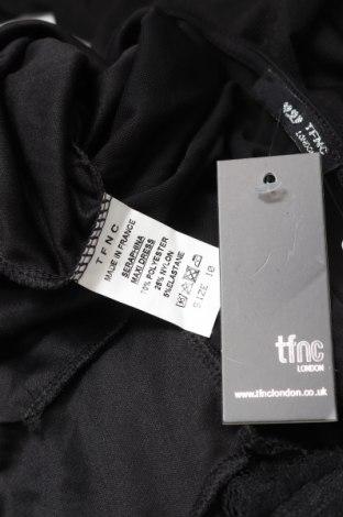 Рокля TFNC London, Размер M, Цвят Черен, 70% полиестер, 25% полиамид, 5% еластан, Цена 26,70лв.