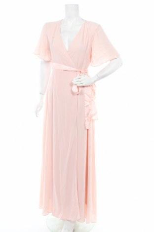 Рокля TFNC London, Размер L, Цвят Розов, 97% полиестер, 3% еластан, Цена 89,06лв.