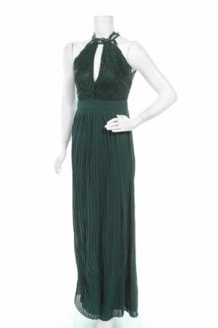 Рокля TFNC London, Размер M, Цвят Зелен, 100% полиестер, Цена 83,85лв.