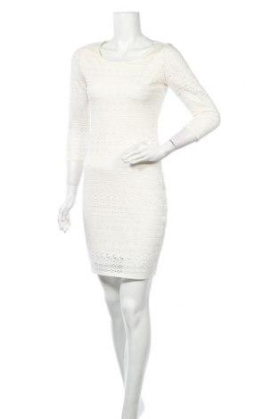 Рокля Takko Fashion, Размер S, Цвят Екрю, 93% полиестер, 7% еластан, Цена 7,35лв.