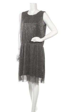 Рокля Vrs Woman, Размер L, Цвят Сив, 55% метални нишки, 45% полиестер, Цена 11,87лв.