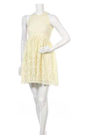Šaty  Zara, Velikost S, Barva Žlutá, Polyester, Cena  503,00Kč
