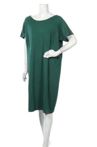 Рокля Zizzi, Размер M, Цвят Зелен, 67% вискоза, 28% полиестер, 5% еластан, Цена 38,64лв.