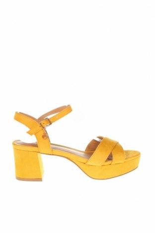 Σανδάλια Anna Field, Μέγεθος 36, Χρώμα Κίτρινο, Κλωστοϋφαντουργικά προϊόντα, Τιμή 18,25€