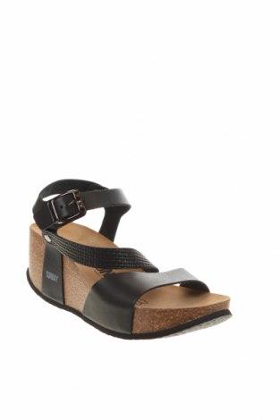 Сандали Sunbay, Размер 38, Цвят Черен, Еко кожа, Цена 102,86лв.
