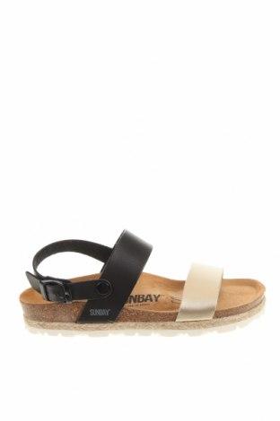 Сандали Sunbay, Размер 38, Цвят Черен, Еко кожа, Цена 52,82лв.