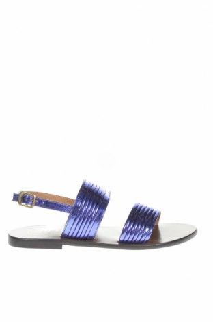 Σανδάλια W.S Shoes, Μέγεθος 38, Χρώμα Βιολετί, Γνήσιο δέρμα, Τιμή 36,70€