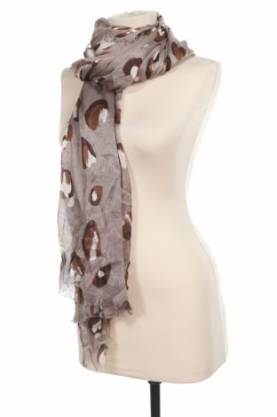 Шал Massimo Dutti, Цвят Кафяв, 90% модал, 10% коприна, Цена 31,85лв.