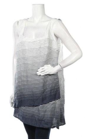 Туника Patrizia Dini, Размер XL, Цвят Бял, 90% лен, 10% полиамид, Цена 24,15лв.