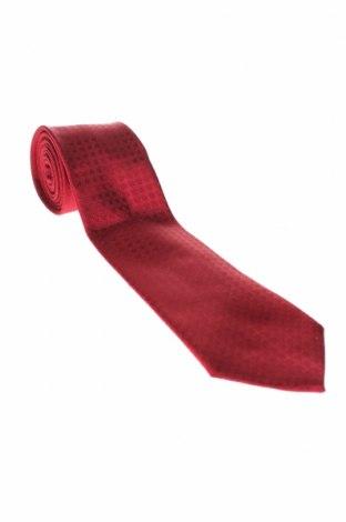 Вратовръзка Hackett, Цвят Червен, Коприна, Цена 62,30лв.
