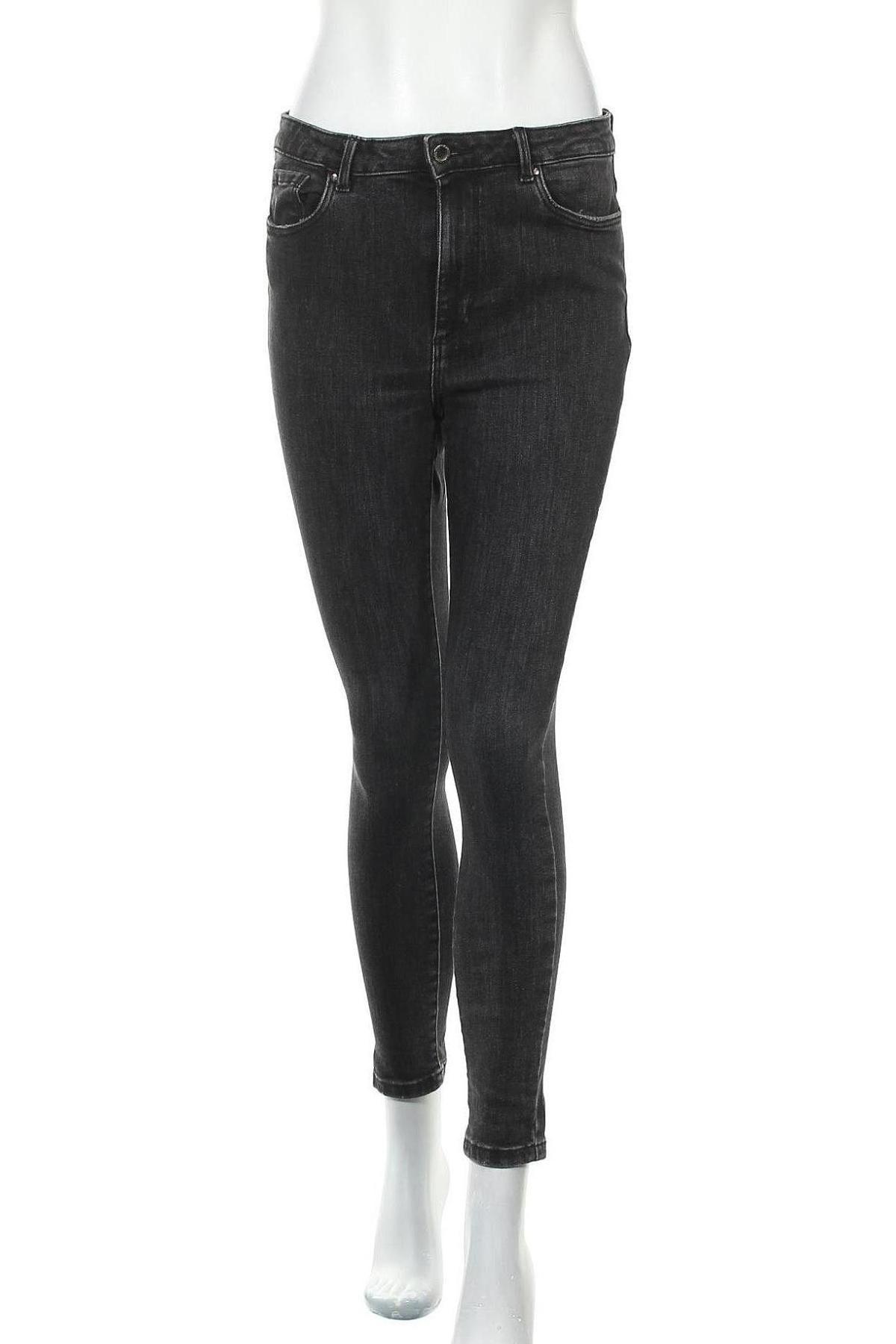 Дамски дънки Vero Moda, Размер M, Цвят Черен, 93% памук, 5% полиестер, 2% еластан, Цена 48,00лв.