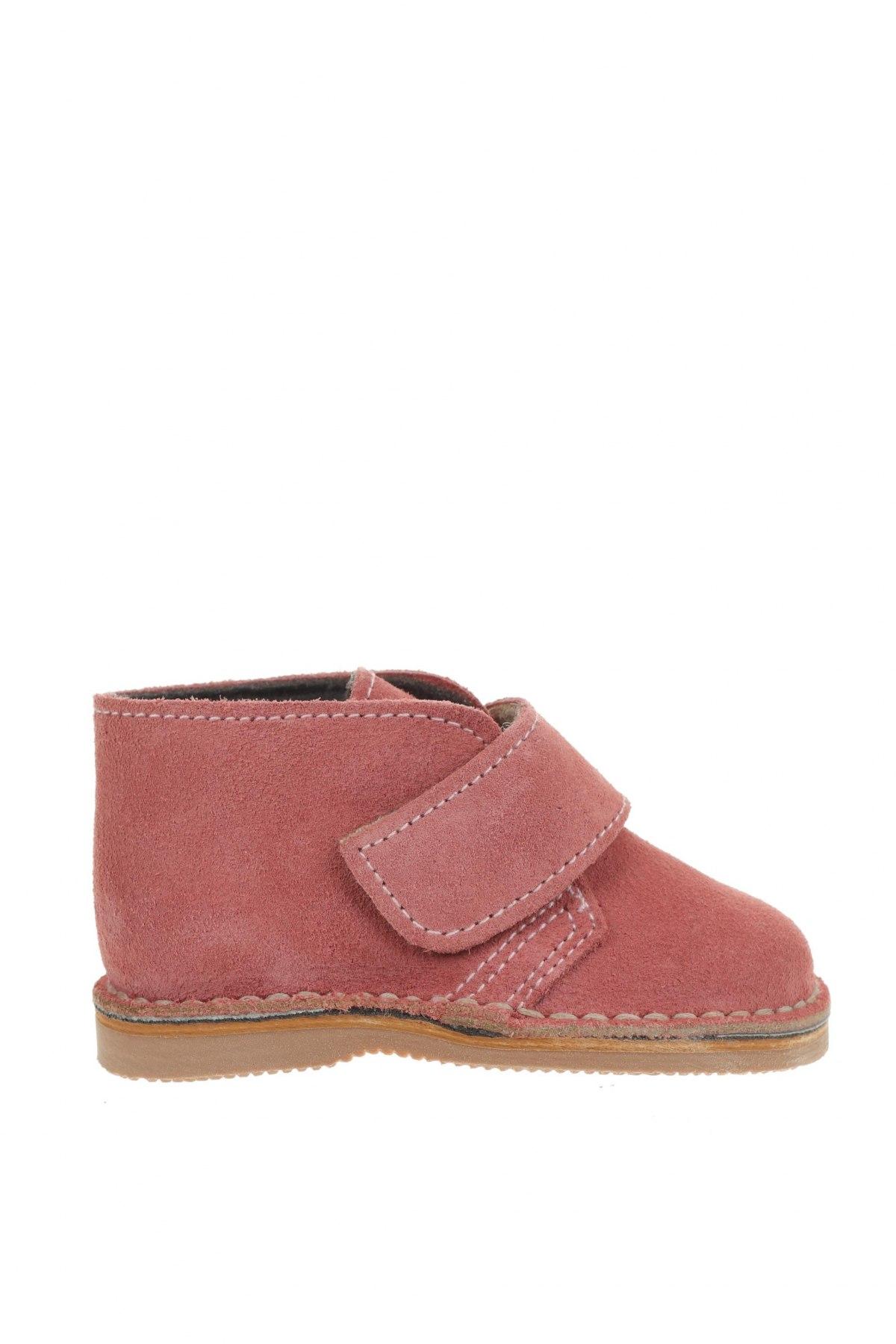 Детски обувки Little Celebs, Размер 20, Цвят Розов, Естествен велур, Цена 19,77лв.
