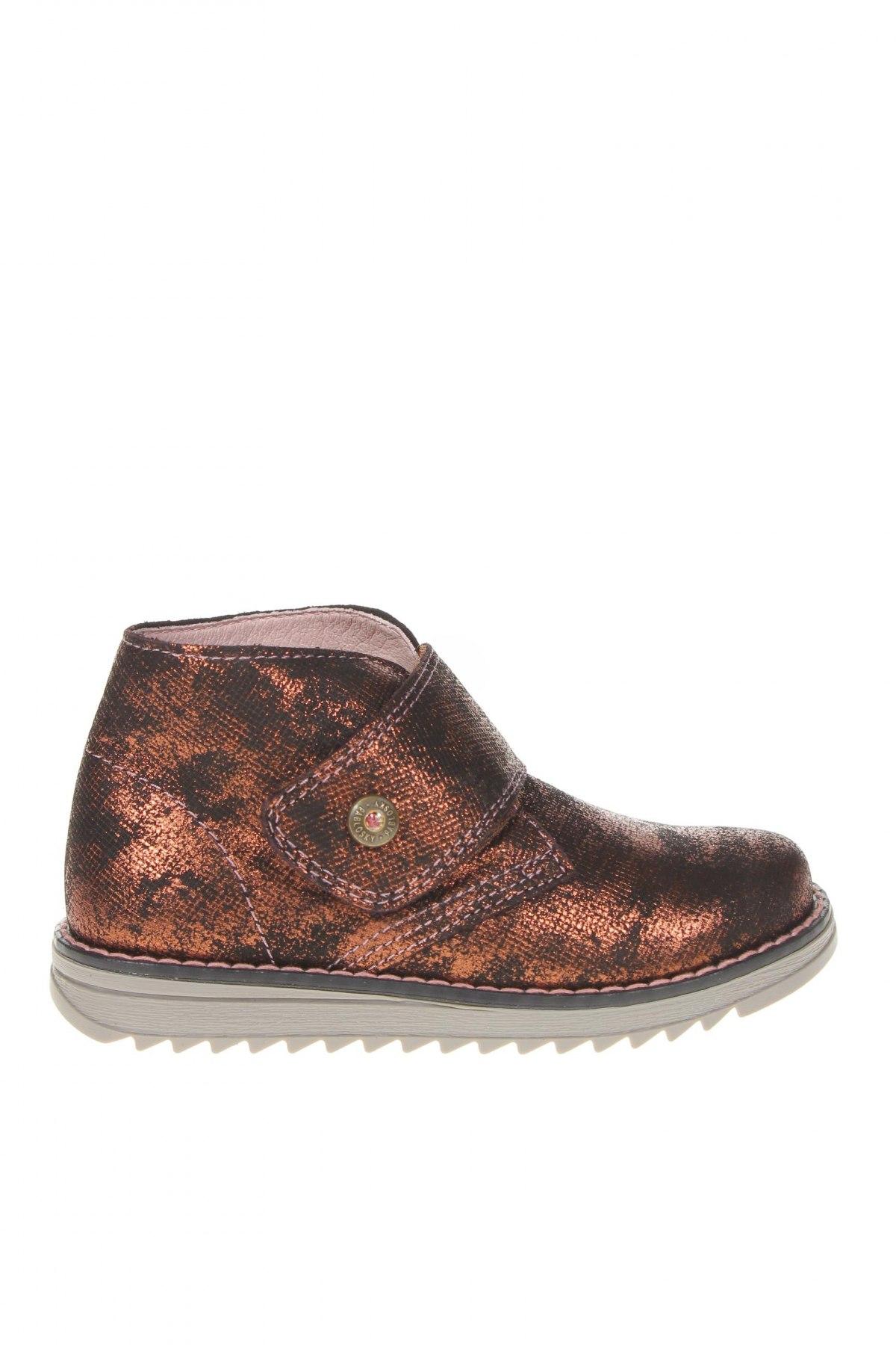 Детски обувки Pablosky, Размер 26, Цвят Черен, Естествен велур, Цена 30,52лв.