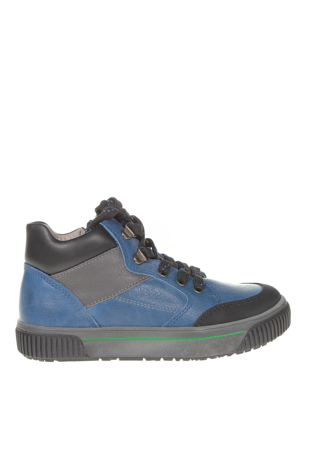 Детски обувки Pablosky, Размер 31, Цвят Син, Естествена кожа, еко кожа, Цена 56,68лв.