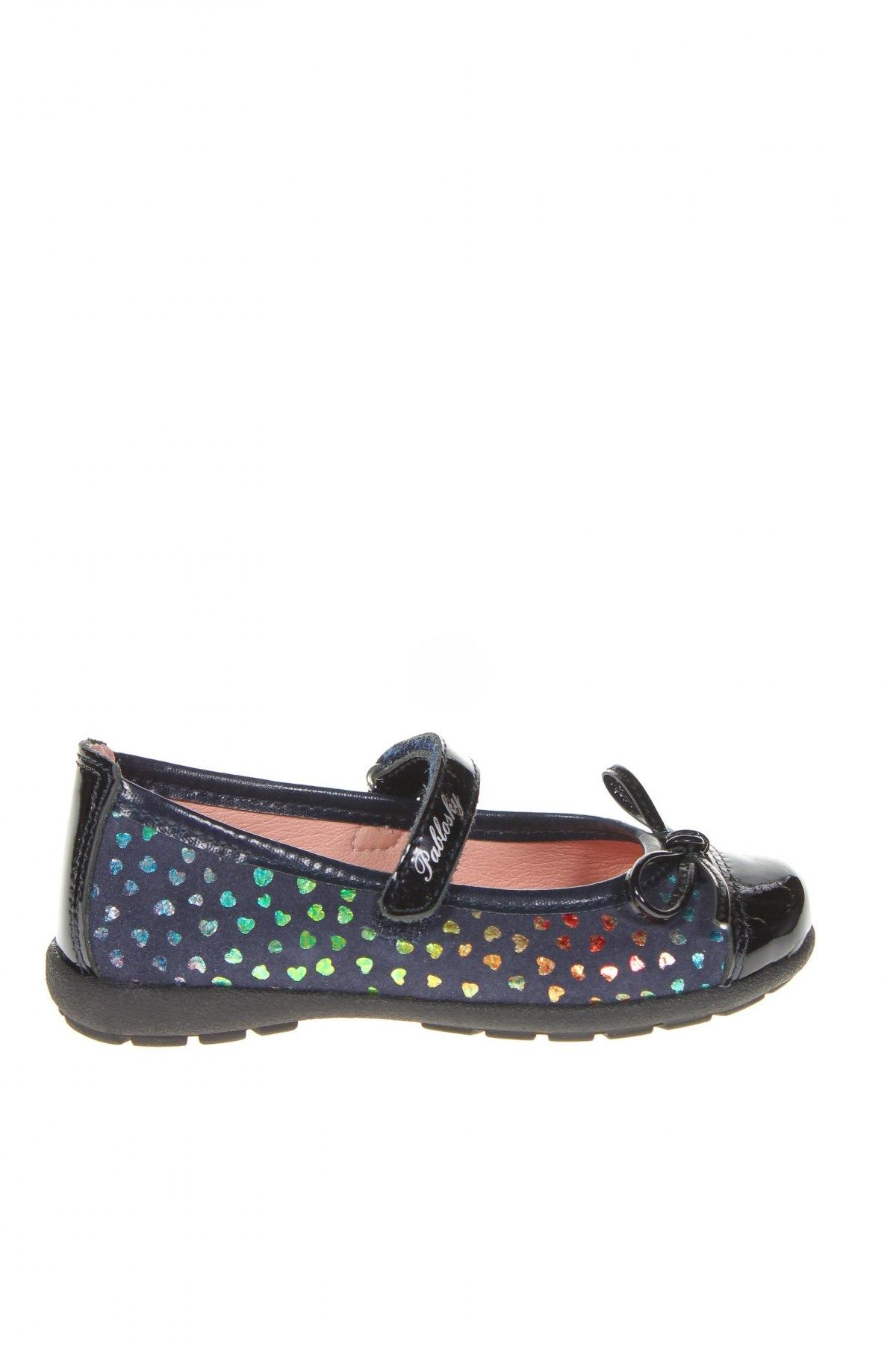 Детски обувки Pablosky, Размер 26, Цвят Син, Естествена кожа, Цена 66,75лв.