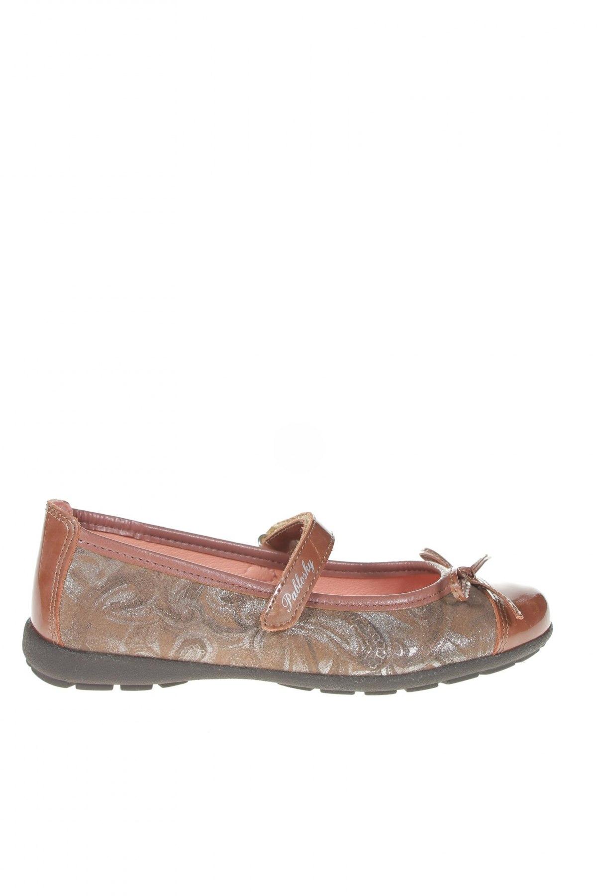 Детски обувки Pablosky, Размер 34, Цвят Кафяв, Естествена кожа, Цена 74,25лв.
