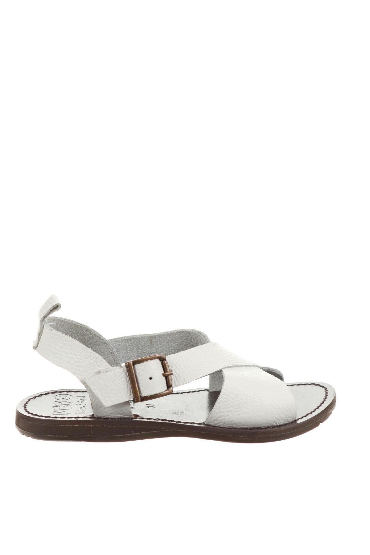 Детски сандали Oca-Loca, Размер 31, Цвят Бял, Естествена кожа, Цена 54,00лв.