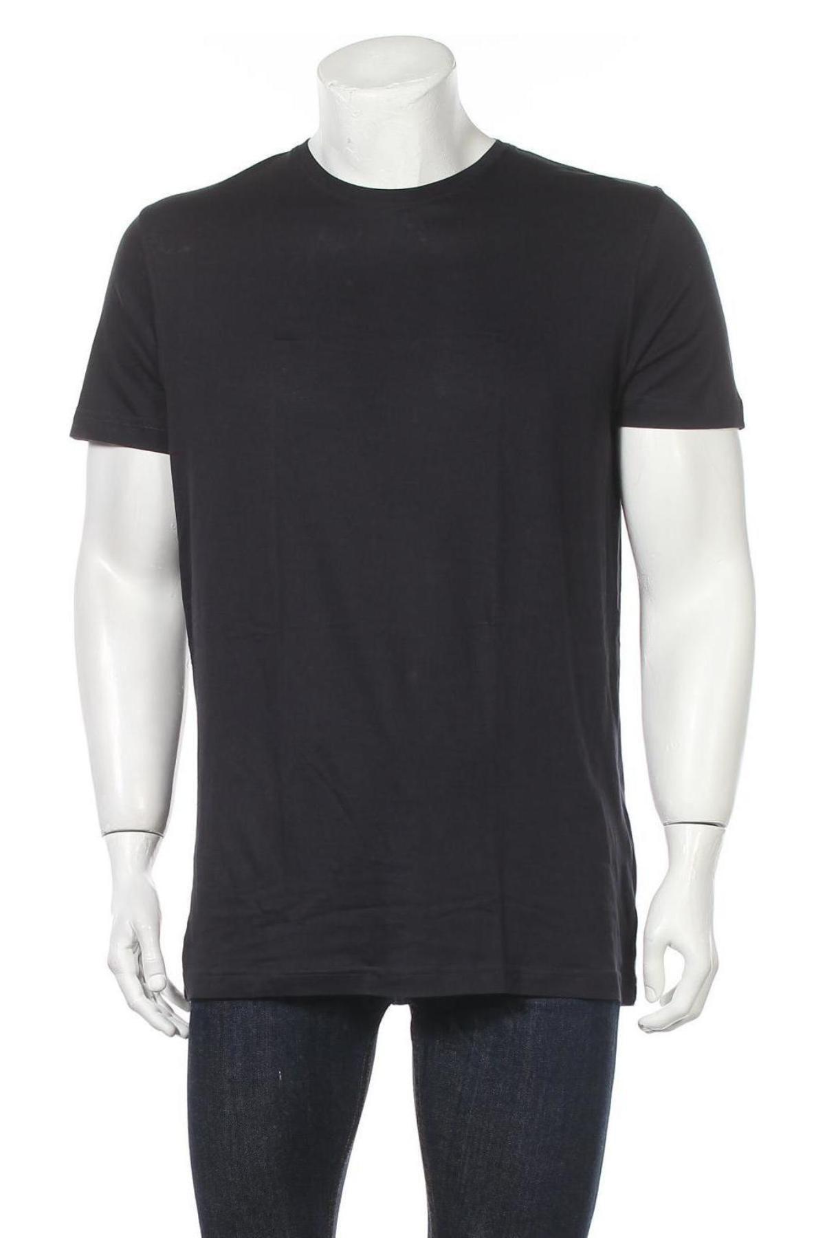 Мъжка тениска Christian Berg, Размер XL, Цвят Син, Памук, Цена 19,50лв.